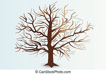 Tree with stylized branches logo