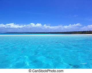 Ripples in Turquoise Lagoon