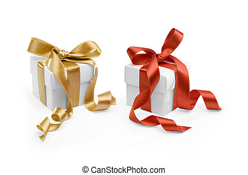 two present boxes