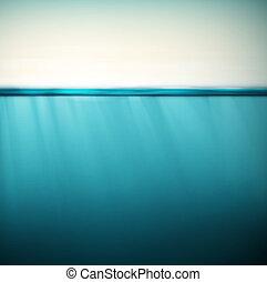 Underwater, nature background, eps 10