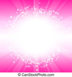 Vector abstract pink background