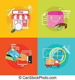 Vector E Commerce Illustration