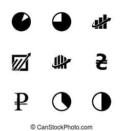 Vector economic icons set