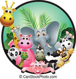 animal cartoon