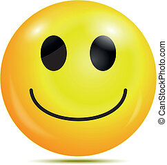 Happy smiley emoticon