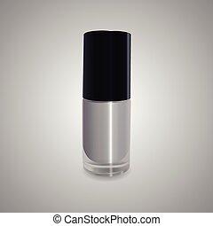 Vector illustration of nail polish.