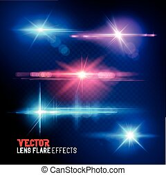 Vector Lens Flare Collection