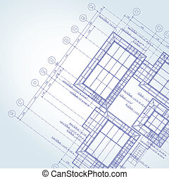 Blue print architect