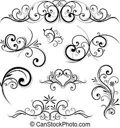 Vector scroll ornament