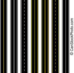 vector seamless roads