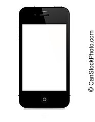 illustration of iPhone 4s, vector format