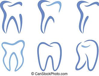vector teeth
