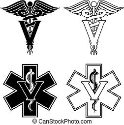 Veterinarian Medical Symbols