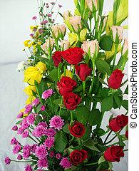 A color bouquet