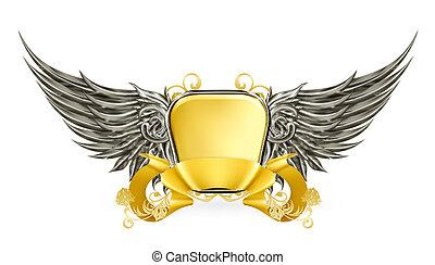 Vintage emblem, 10eps
