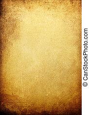 Vintage golden colored background