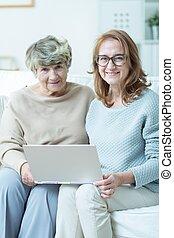 Visit in nursing home