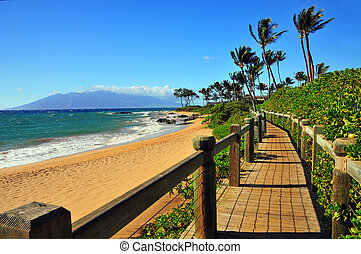 Wailea Beach Pathway, Maui, Hawaii