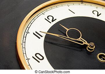 Wall retro clock
