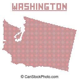Washington Dot Map