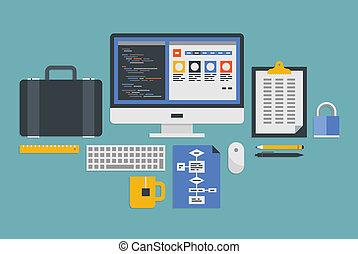Web programming development