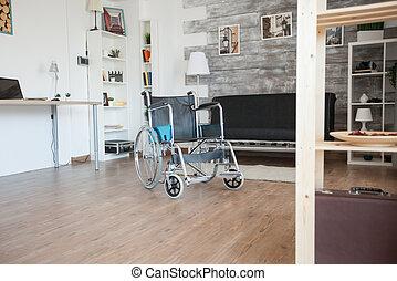 Wheelchair in nursing home