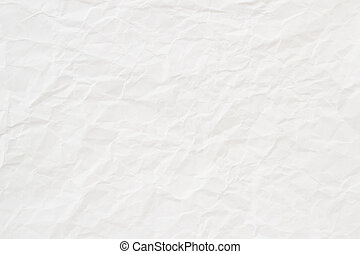 high quality white crumpled paper texture, background, backdrop