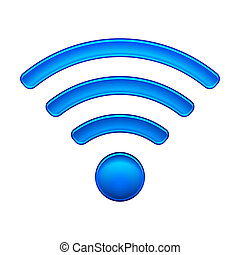 Wireless Network Symbol wifi icon vector illustration isolated on white. EPS10 modes. Editable EPS and Render in JPG format