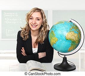 woman teacher