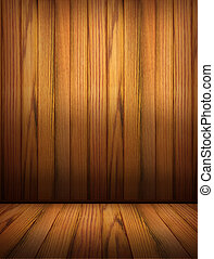 Wooden background for design.