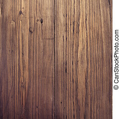 Wooden texture. Brown grunge wood board background