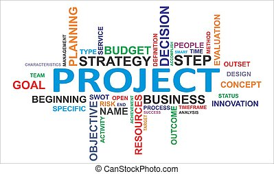 word cloud - project
