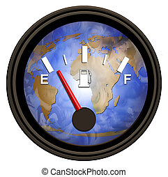 We are running on empty and encreasing our dependency on oil.