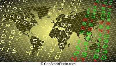 World stock exchange