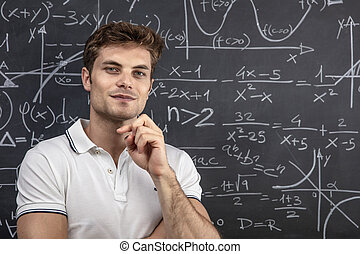 young teacher portrait